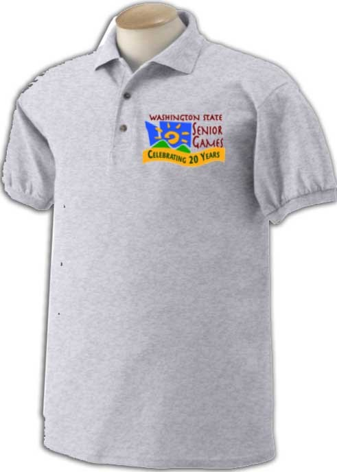 2016 Washington State Senior Games commemorative shirt